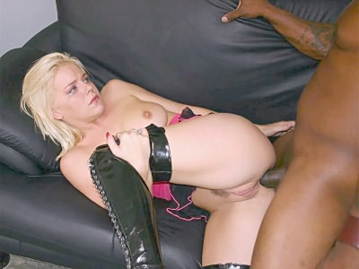 Blonde Taking It Hard Up fresher Ass